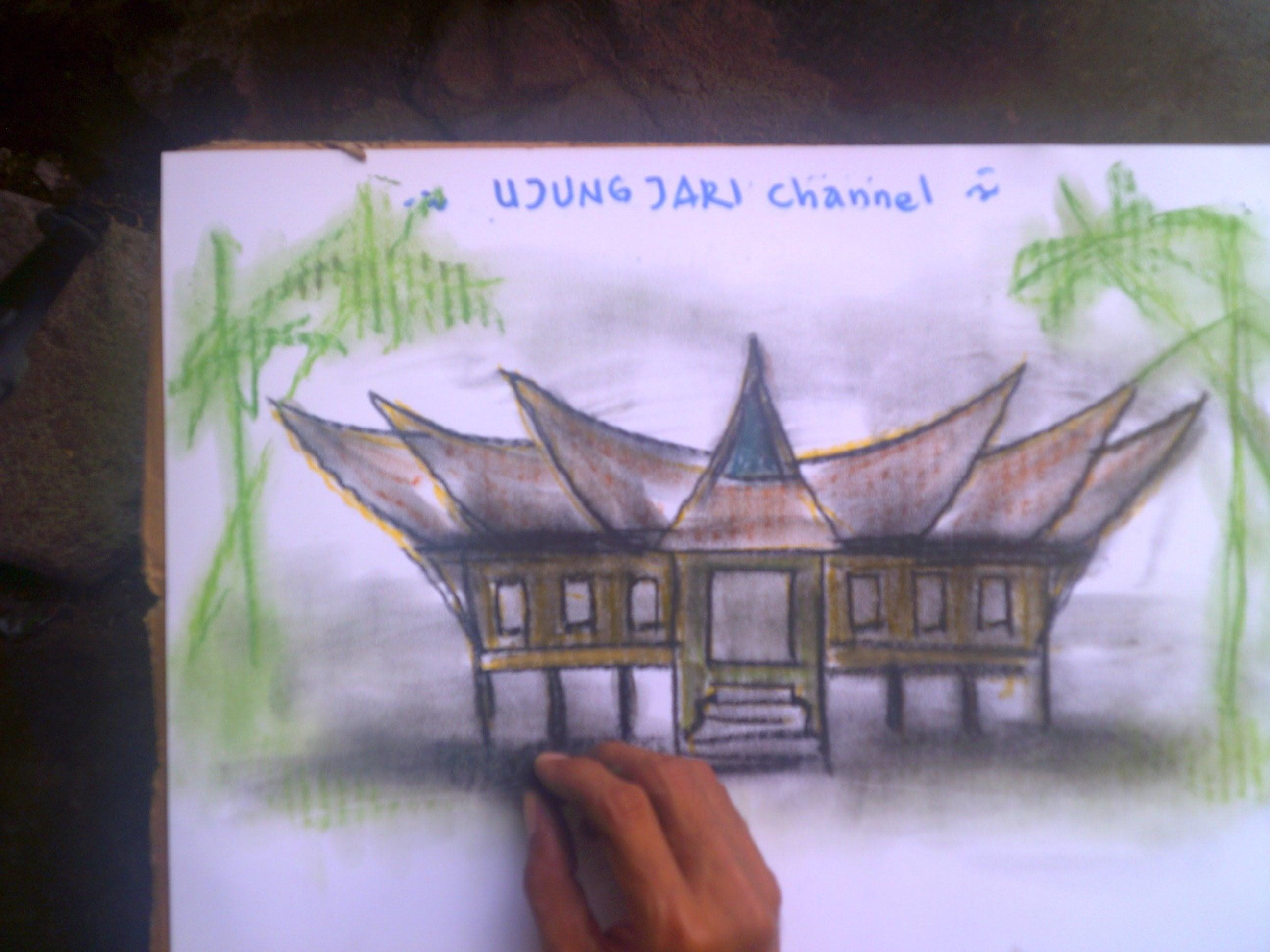 Top Five Menggambar Rumah Adat Padang