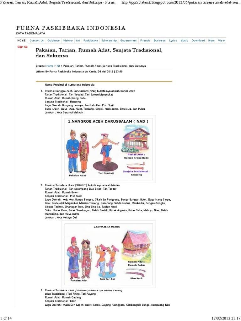 Fancy 21 Gambar Rumah Adat Provinsi Di Indonesia 77 Untuk Ide Merancang Interior Rumah untuk 21 Gambar Rumah Adat Provinsi Di Indonesia