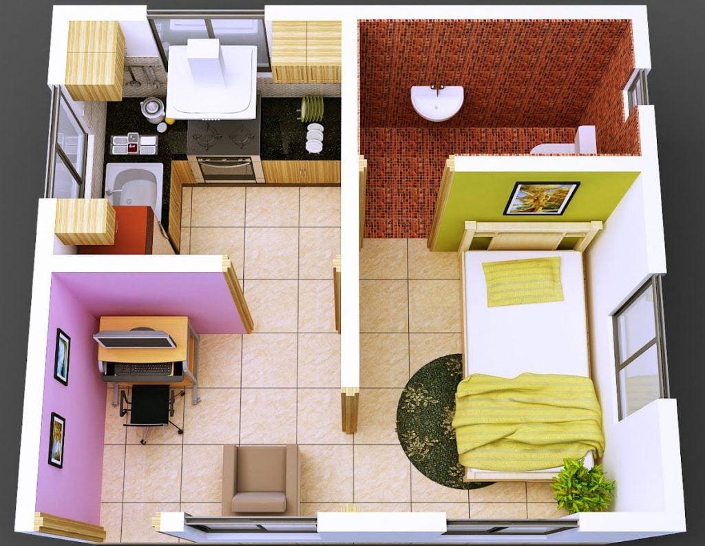 Unik 21 Gambar Rumah Minimalis 1 Kamar 77 Menciptakan Desain Rumah Gaya Ide Interior oleh 21 Gambar Rumah Minimalis 1 Kamar