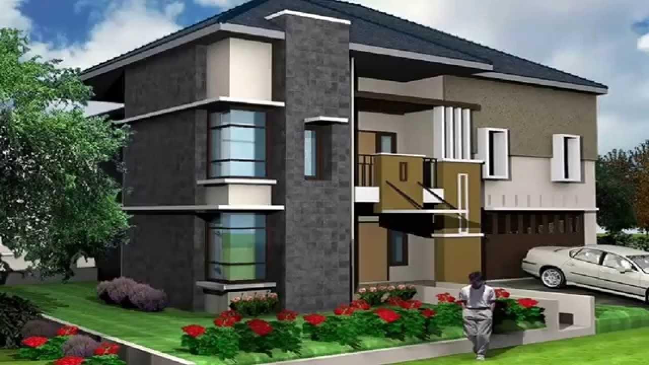 Wow 21 Gambar Rumah Minimalis Modern 2 Lantai Tampak Depan ...