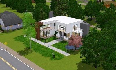 Anggun Desain Rumah Modern The Sims 4 23 Untuk Inspirasi Dekorasi Rumah Kecil dengan Desain Rumah Modern The Sims 4