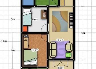 Bagus Desain Rumah Minimalis 6 X 12 14 Untuk Inspirasi Interior Rumah untuk Desain Rumah Minimalis 6 X 12