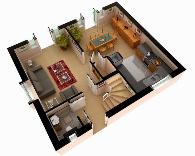 Bagus Desain Rumah Minimalis Tanpa Sekat 38 Dalam Ide Dekorasi Rumah dengan Desain Rumah Minimalis Tanpa Sekat
