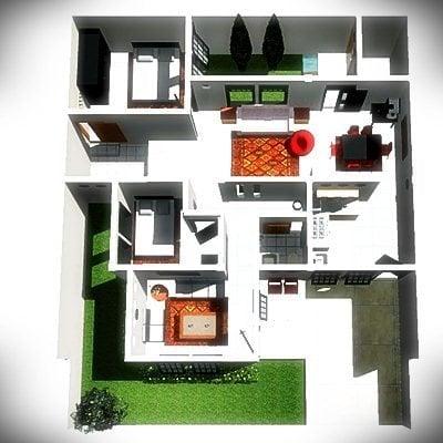 desain rumah ukuran 9x6