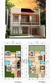 Besar Desain Rumah Modern Dan Denahnya 77 Bangun Inspirasi Interior Rumah dengan Desain Rumah Modern Dan Denahnya