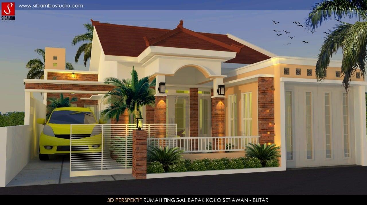 Besar Desain Rumah Modern Plus Toko 67 Menciptakan Ide ...