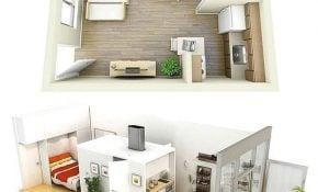 Cemerlang Desain Rumah Sederhana 1 Kamar 27 Di Desain Rumah Gaya Ide Interior oleh Desain Rumah Sederhana 1 Kamar