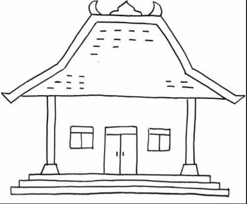 Fancy Denah Rumah Adat Jawa 59 Dalam Ide Renovasi Rumah untuk Denah Rumah Adat Jawa