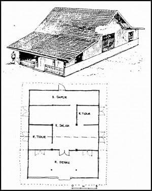Fancy Denah Rumah Adat Jawa 98 Dengan Tambahan Perancangan Ide Dekorasi Rumah oleh Denah Rumah Adat Jawa