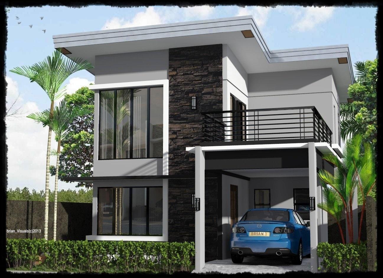 Fancy Desain Rumah Modern Warna Putih 87 Renovasi Perencanaan Desain Rumah oleh Desain Rumah Modern Warna Putih
