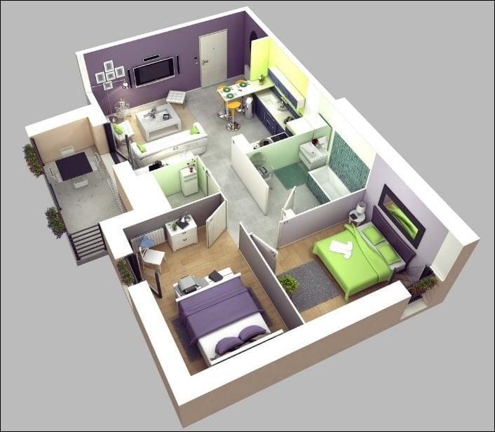 Fancy Desain Rumah Sederhana Kamar 3 48 Untuk Dekorasi Rumah Inspiratif untuk Desain Rumah Sederhana Kamar 3