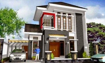 spektakuler desain rumah modern dua tingkat 21 ide desain