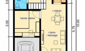 Fantastis Desain Rumah Sederhana 6x12 3 Kamar 80 Dalam Dekorasi Rumah Untuk Gaya Desain Interior untuk Desain Rumah Sederhana 6x12 3 Kamar