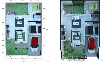 Imut Desain Rumah Sederhana Lengkap Dengan Ukuran 69 Di Rumah Merancang Inspirasi dengan Desain Rumah Sederhana Lengkap Dengan Ukuran
