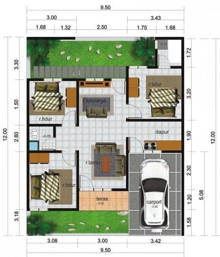 Indah Desain Rumah Minimalis 1 Lantai Ukuran 12 X 1 46 Dalam Dekorasi Rumah Untuk Gaya Desain Interior dengan Desain Rumah Minimalis 1 Lantai Ukuran 12 X 1