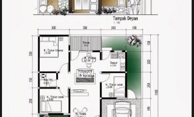 Kemewahan Desain Rumah Sederhana 6x10 3 Kamar 83 Untuk Ide Dekorasi Rumah oleh Desain Rumah Sederhana 6x10 3 Kamar