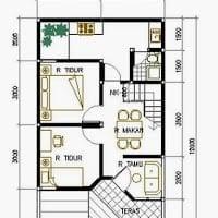 Kemewahan Desain Rumah Sederhana 6x12 3 Kamar 73 Renovasi Ide Desain Rumah oleh Desain Rumah Sederhana 6x12 3 Kamar