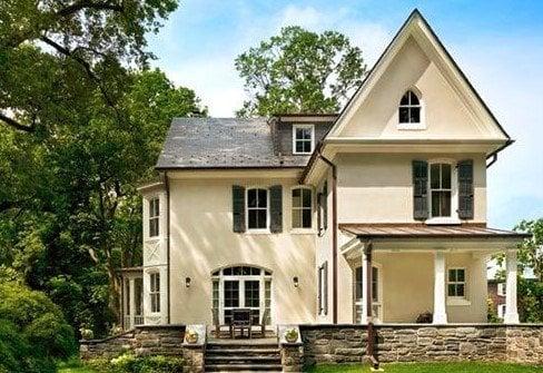 keren desain rumah minimalis modern gaya eropa 73 dengan