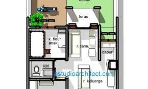 Keren Desain Rumah Sederhana 7x12 3 Kamar 18 Renovasi Ide Desain Rumah dengan Desain Rumah Sederhana 7x12 3 Kamar