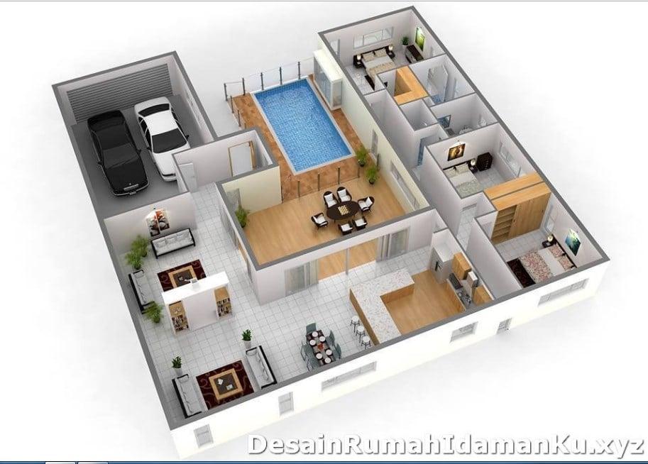 Luar biasa Desain Rumah Mewah 1 Lantai Dengan Kolam Renang 94 Tentang Dekorasi Rumah Untuk Gaya Desain Interior untuk Desain Rumah Mewah 1 Lantai Dengan Kolam Renang