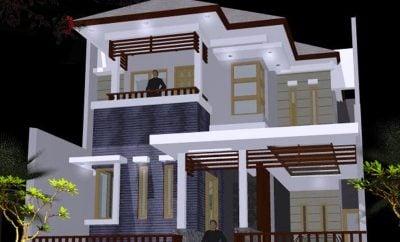 Luar biasa Desain Rumah Modern Minimalis 2 Lantai 2018 67 Untuk Dekorasi Interior Rumah dengan Desain Rumah Modern Minimalis 2 Lantai 2018