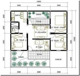 Luar biasa Desain Rumah Sederhana Ukuran 8x7 66 Dengan Tambahan Ide Pengaturan Dekorasi Rumah dengan Desain Rumah Sederhana Ukuran 8x7