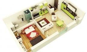 Luxurius Desain Rumah Sederhana 1 Kamar Tidur 79 Renovasi Rumah Merancang Inspirasi oleh Desain Rumah Sederhana 1 Kamar Tidur