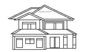 85 Gambar Rumah Sederhana Pensil HD Terbaru