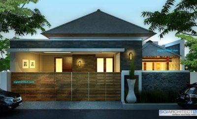 Mewah Desain Rumah Modern Klasik 1 Lantai 99 Dalam Desain Interior Untuk Renovasi Rumah oleh Desain Rumah Modern Klasik 1 Lantai