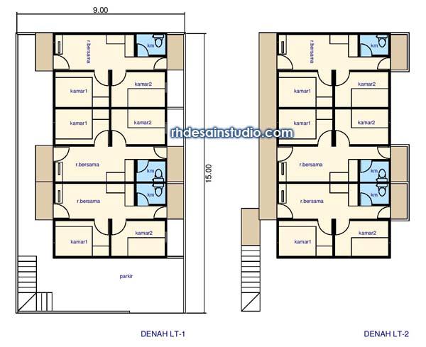 Denah Rumah 4x6 Enak