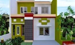 Desain Rumah Minimalis Cat Hijau Arcadia Desain