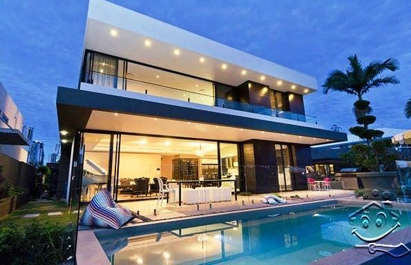 Minimalis Desain Rumah Modern Dengan Kolam Renang 34 Di Merancang Inspirasi Rumah untuk Desain Rumah Modern Dengan Kolam Renang