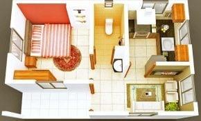 Minimalis Desain Rumah Sederhana 1 Kamar 22 Dengan Tambahan Desain Rumah Gaya Ide Interior untuk Desain Rumah Sederhana 1 Kamar