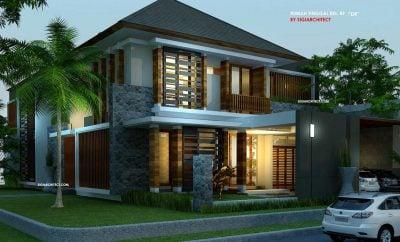 Modern Desain Rumah Modern Tropis 2 Lantai 12 Renovasi Rumah Merancang Inspirasi dengan Desain Rumah Modern Tropis 2 Lantai