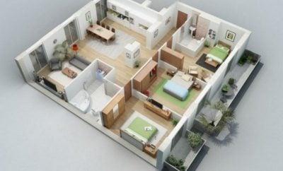 Modern Desain Rumah Sederhana 9x9 39 Dengan Tambahan Ide Dekorasi Rumah untuk Desain Rumah Sederhana 9x9