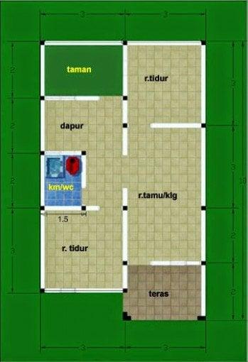 Modern Desain Rumah Sederhana Panjang 27 Untuk Desain Rumah Inspiratif oleh Desain Rumah Sederhana Panjang