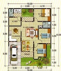 paling keren desain interior rumah luas 90 13 dalam