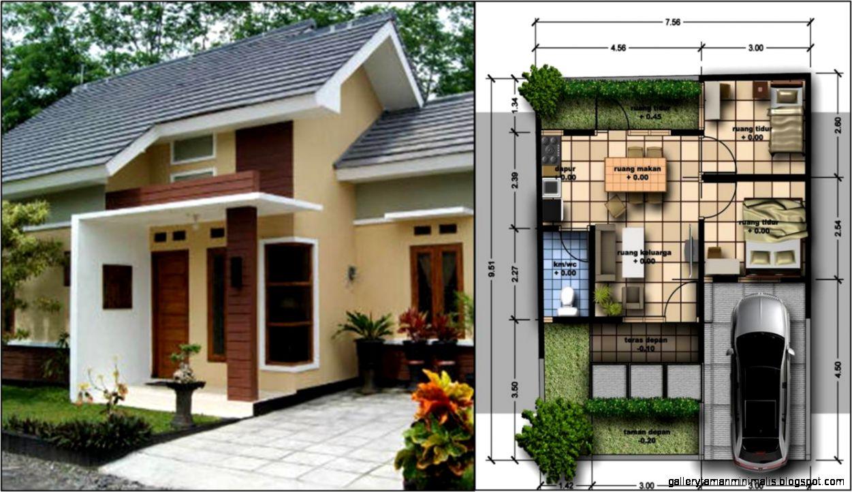 Paling keren Desain Rumah Minimalis Asri 68 Dalam ...