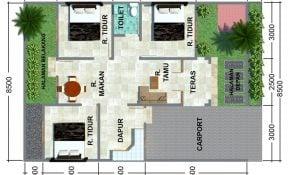 Paling keren Desain Rumah Sederhana 7x12 3 Kamar 23 Tentang Inspirasi Untuk Merombak Rumah dengan Desain Rumah Sederhana 7x12 3 Kamar