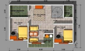 Paling keren Desain Rumah Sederhana Ukuran 6x8 25 Di Perencanaan Desain Rumah oleh Desain Rumah Sederhana Ukuran 6x8
