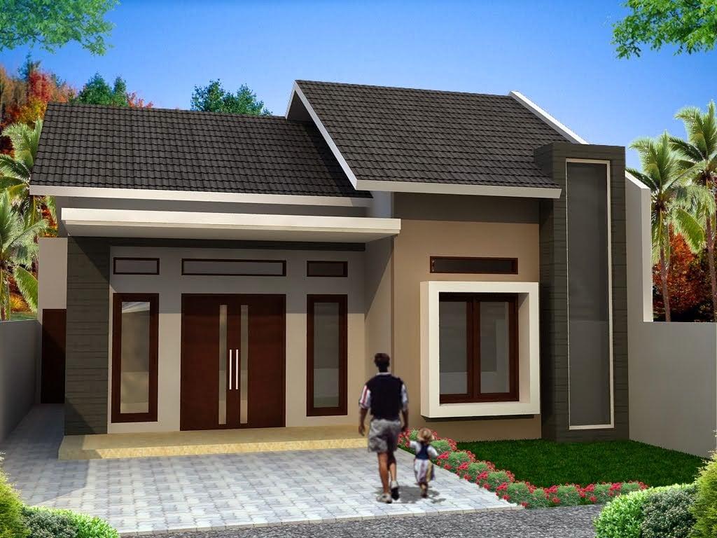 46 Desain Rumah Minimalis Sederhana Tapi Cantik