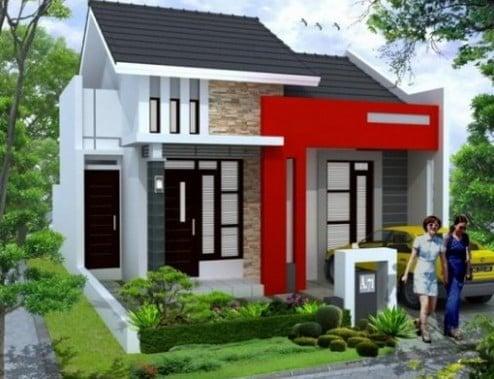 unik desain rumah minimalis irit biaya 41 menciptakan ide