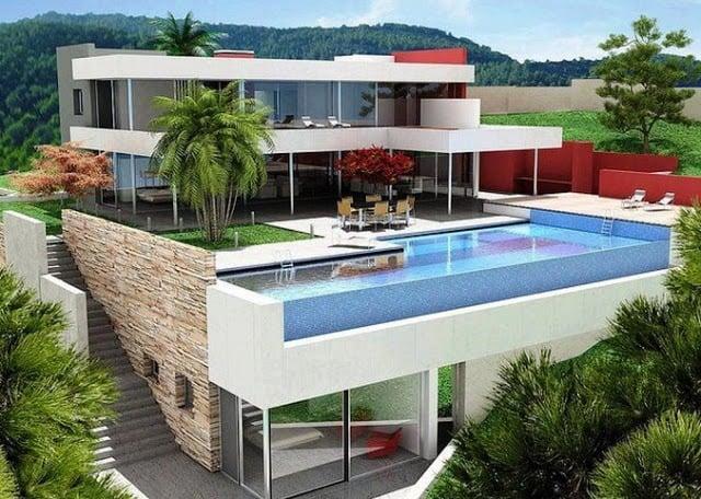 Unik Desain Rumah Modern Dengan Kolam Renang 17 Menciptakan Desain Rumah Inspiratif dengan Desain Rumah Modern Dengan Kolam Renang