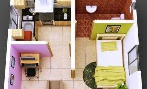 Wow Desain Rumah Sederhana 1 Kamar 19 Di Perencana Dekorasi Rumah untuk Desain Rumah Sederhana 1 Kamar