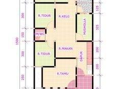 Wow Desain Rumah Sederhana 7x12 3 Kamar 93 Tentang Ide Dekorasi Rumah oleh Desain Rumah Sederhana 7x12 3 Kamar