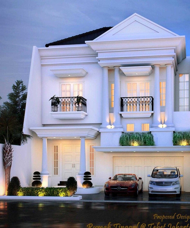 11 Ide Cantik Model Desain Rumah Klasik Mewah Minimalis Yang Menawan Paling Terkenal