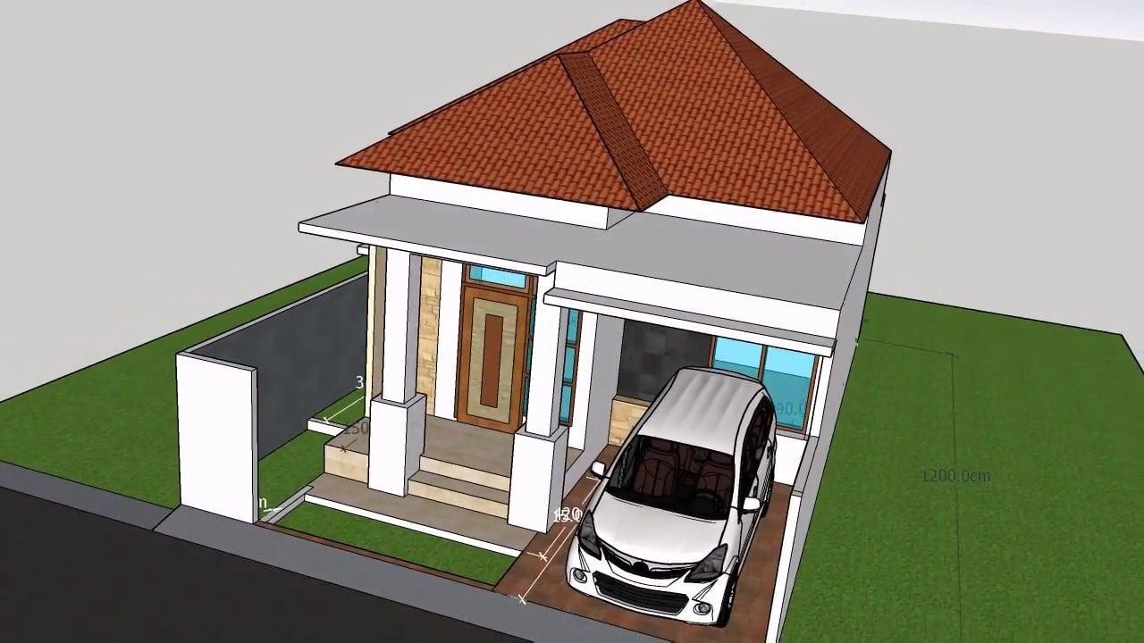 13 Terindah Model Rumah Minimalis 7×15 Terbaru 2020