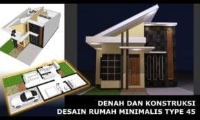 17 Ide Cantik Rancangan Rumah Minimalis Terbaru dan Terlengkap