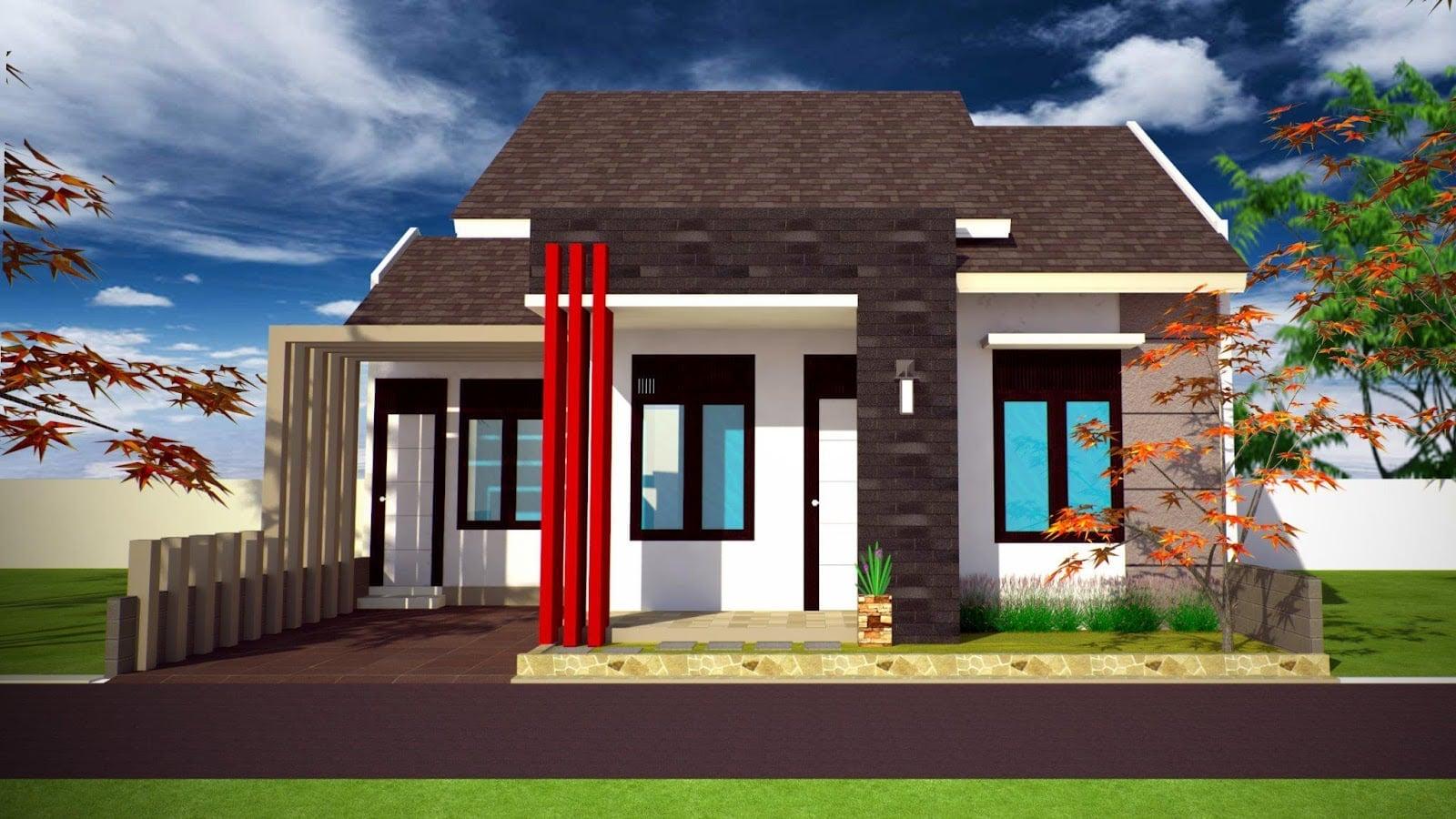 20 Terindah Rumah Minimalis Lantai 1 Terbaru 2020