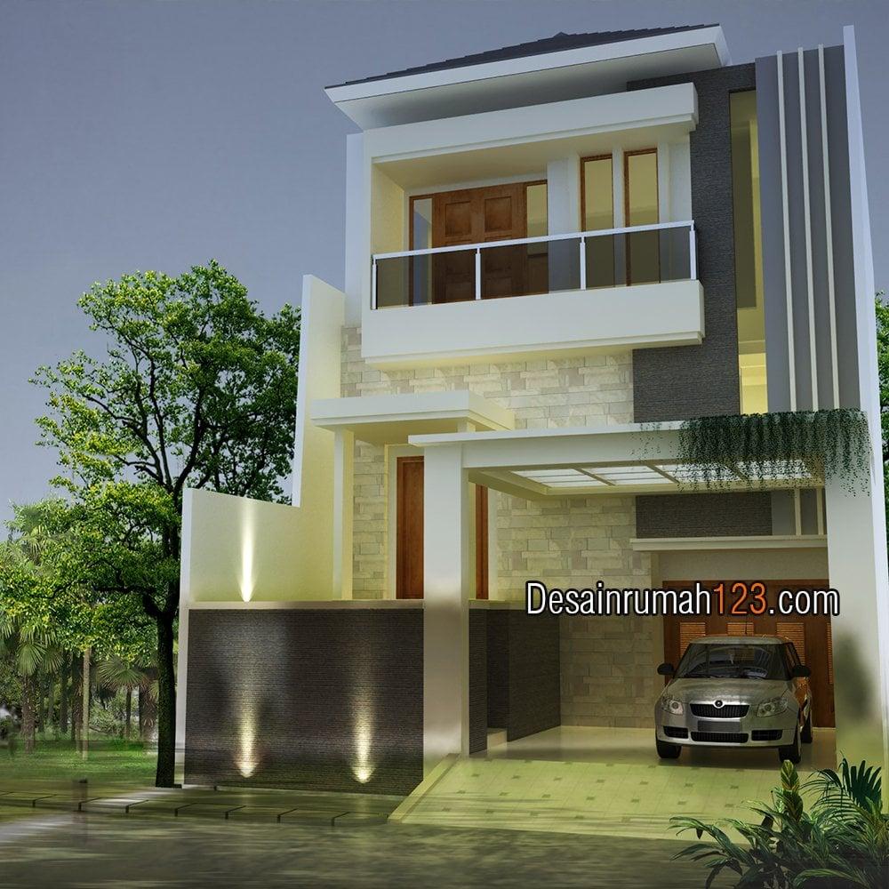 23 Terbaik Rumah Minimalis 3 Lantai Lebar 6 Meter Istimewa Banget
